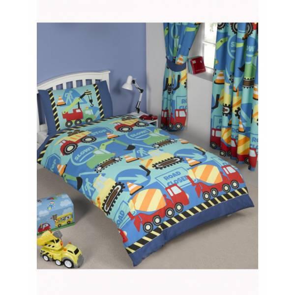 Fabric Blue Kindergarten Bedding