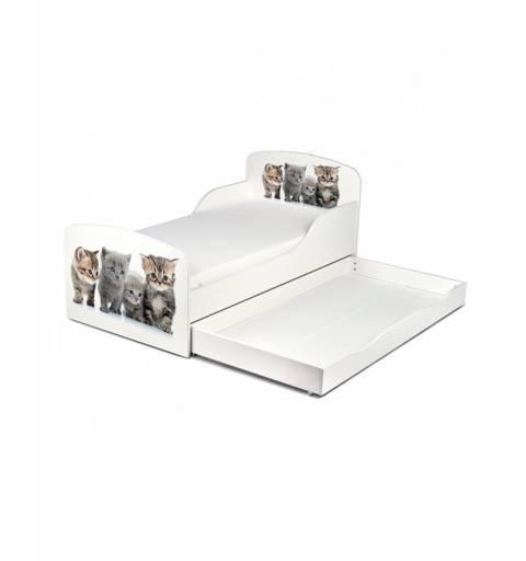 Cicás - Ágy  (ágyneműtartós)