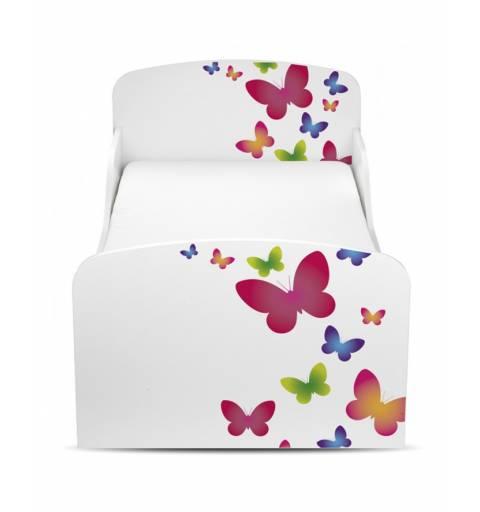 Pillangós - Ágy  (ágyneműtartós)
