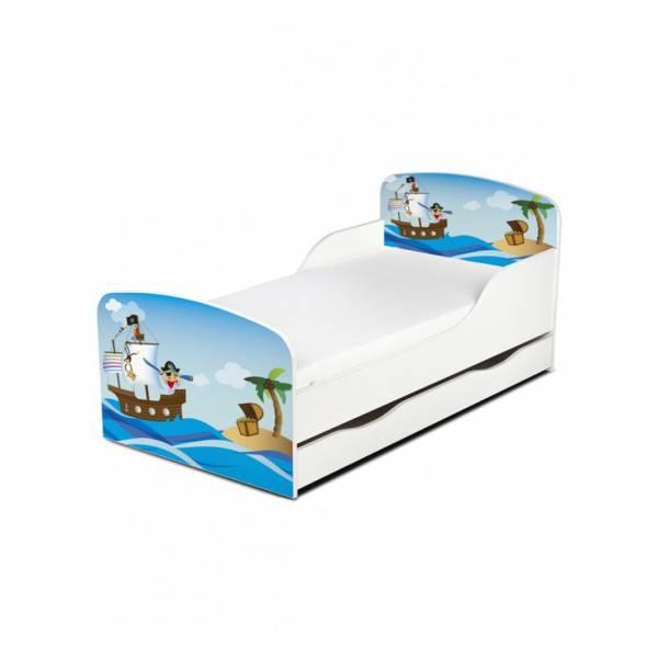 Kalóz - Ágy  (ágyneműtartós)