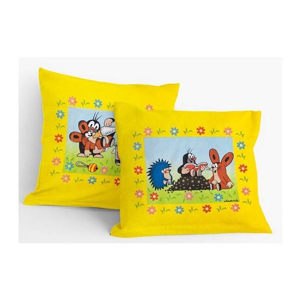 Little Mole - Garden Pillow or Pillowcase