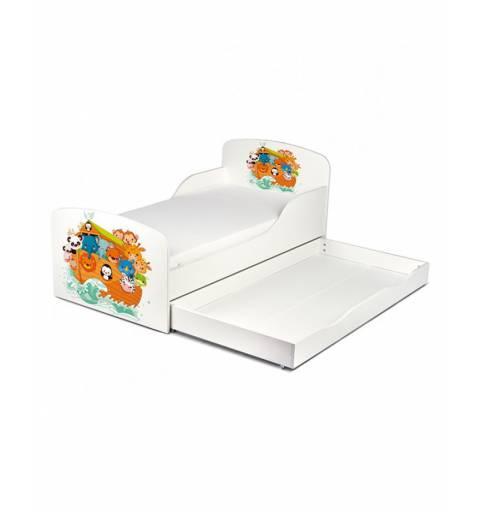 Állatkás - Ágy  (ágyneműtartós)