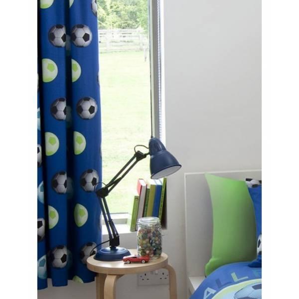 Focis kék függöny