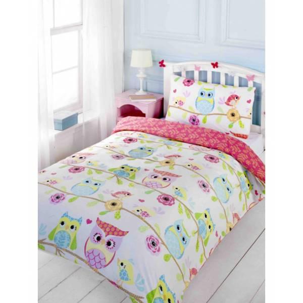 Bagoly ágynemű színes