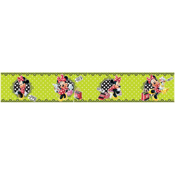 Minnie Mouse- Border Green