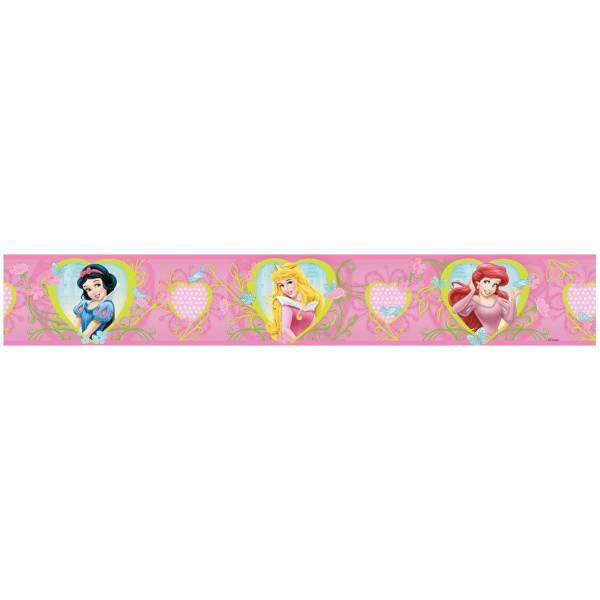 Disney Hercegnő Rózsaszín Bordűr