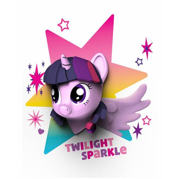 My Little Pony 3 D Twilight Lamp