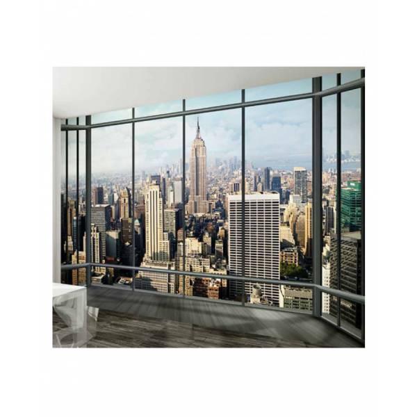 New York Kilátás Falfestmény