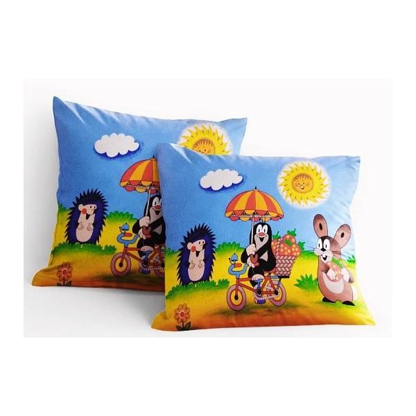 Little Mole- Cotton Pillowcase