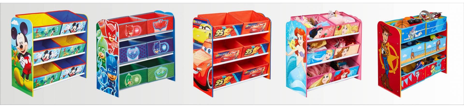 Disney 6 db - os tárolók