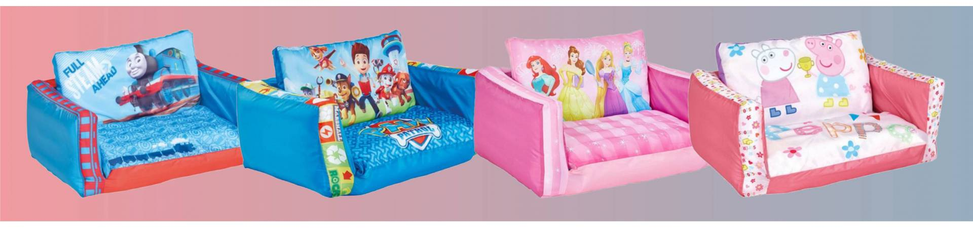Disney felfújható kanapé